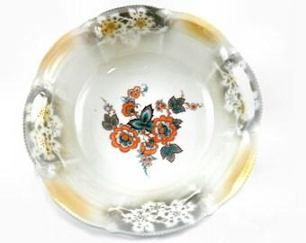 Vintage Large Ornamental Fruit Bowl / Display Bowl