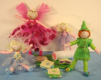 Fairy Party doll set