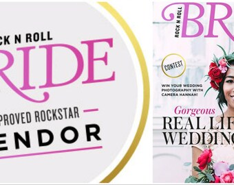 As Featured in ROCK N ROLL Brides Magazine