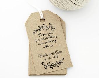 Succulent wedding favor tag printable medium tag size thank you tag medium wedding tag gift tag love laurels wedding labels hang tags diy digital printable solutioingenieria Choice Image
