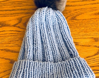 Lorelai Gilmore Pom-Pom Hat