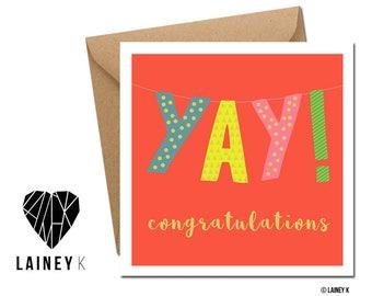 YAY! Congratulations