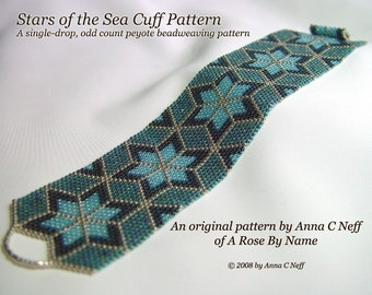 Stars of the Sea Cuff Pattern
