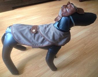 Dog Costume, Sherlock Holmes, Private Detective, Crime Scene, Mystery, Fall, Plaid, British, Arthur Conan Doyle, Dr. Watson, Victorian