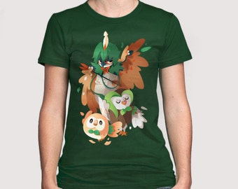 Grass starters fanart T-shirt