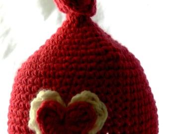 Crochet Knot Hat