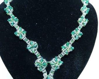 Emerald Sparkle Necklace