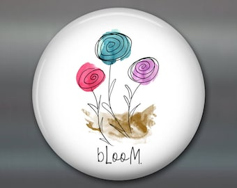 Blooming flower decorations for the kitchen - Modern farmhouse kitchen decor - Easter decoration farmhouse chic decor