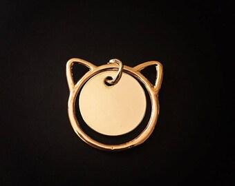 Minimalist Personalized Custom Cat Necklace