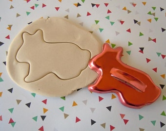 Vintage Metal Bunny Rabbit Cookie Cutter Rustic Primitive Farmhouse Baking Kitchen Decor