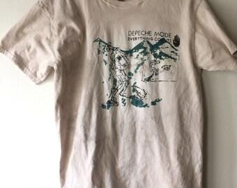 Depeche Mode Everything Counts Bootleg Shirt
