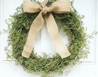 Greenery Wreath | Grapevine Wreath | Year Round Front Door Wreath