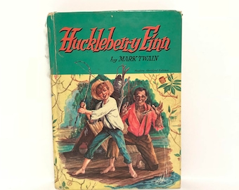 Huckleberry Finn by Mark Twain 1955