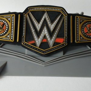 WWE CHAMPIONSHIP RING Cake Topper includes cupcake pick birthday bachelor party world wrestling entertainment belt boy girl