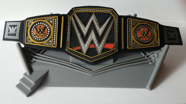 Wwe Championship Belt Cake Topper