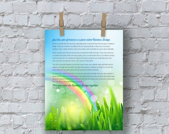 Rainbow Bridge Print
