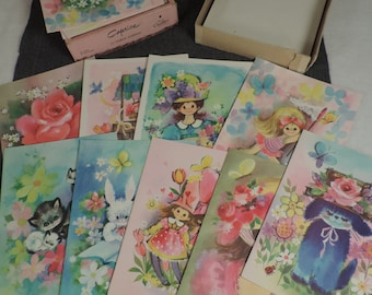 Sale!!! Paper Crafter Sale! Vintage Caprice All Occasion Card Assortment Cornation Collection