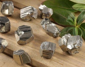 3 Raw PYRITE Stones - Fools Gold Stone, Protection Stone, Pyrite Crystal Cluster, Natural Pyrite Stone, Pyrite Cube, Healing Stone E0244