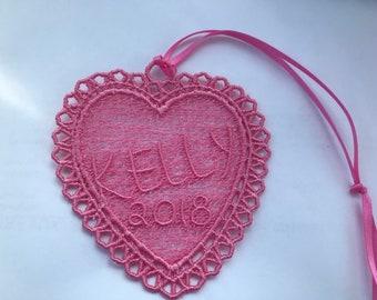 Ornament Lace Heart