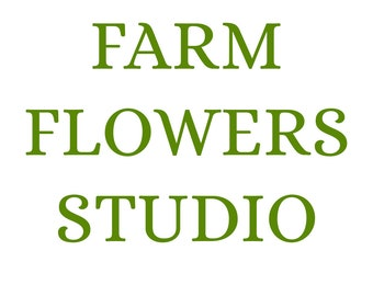 FarmFlowersStudio - Our Previous Shop Name. New Name is Bloomingful :)