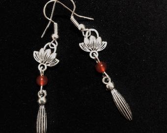 Orb of Lotus Earrings