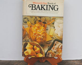 Vintage Woman's Day Book Of Baking 1977 Cookbook
