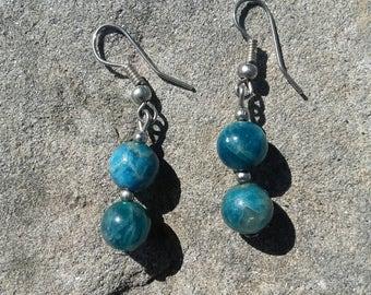Stone earrings earrings nickel free earrings gift for her women handmade jewelry hippie style earring pearls earrings jewelry accessories