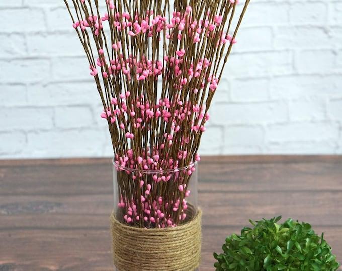 Pink berry spray (5 stems)