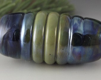 Dread Bead Big Hole Bead Glass McRib