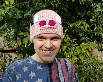 Minecraft pig hat