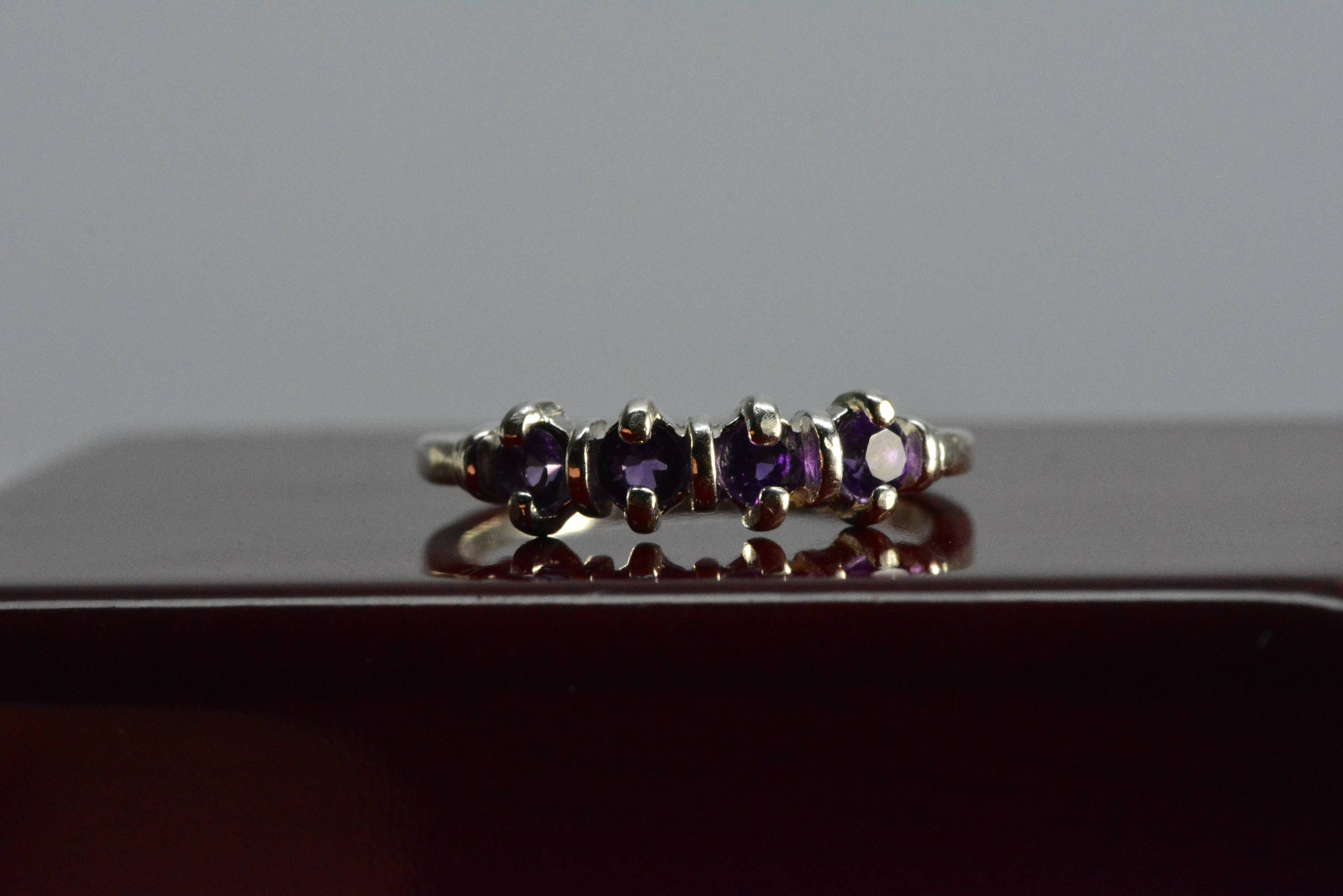 amethyst rings stellar auren birthstone products ring brazilian jewellery february