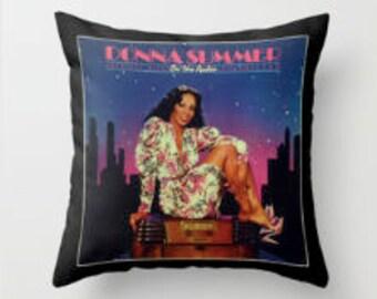 DonnaSummer Disco Pillow