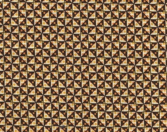 Fabric Liberty Lifestyle Bloomsbury mustard collection