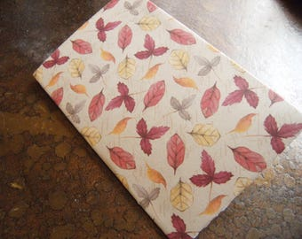 Fall Leaves Traveler's Journal 2 Pocket Folder-Field Notes