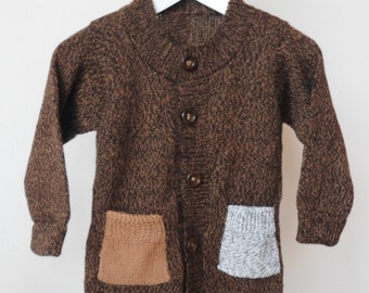 Baby Alpaca Kids Cardigan / Sweater