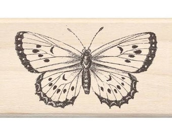 Inkadinkado Butterfly Rubber Stamp Scrapbooking & Paper Craft Supplies
