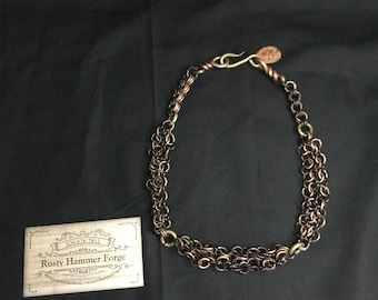 """19.5"""" Chainmail Necklace"""