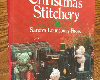 Scrap Savers Christmas Stitchery Book by Sandra Lounsbury Foose.