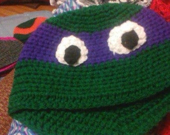 Ninja Turtle Hat (Adult size)