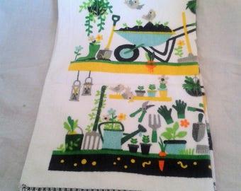 Tea Towel - In the Garden