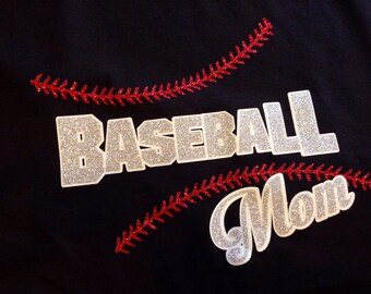 Baseball Mom, can be Dad or any family member, comfy and cute. Sizes S-3XL in several color options