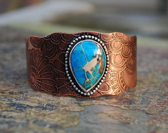 Sea Sediment Jasper Cuff