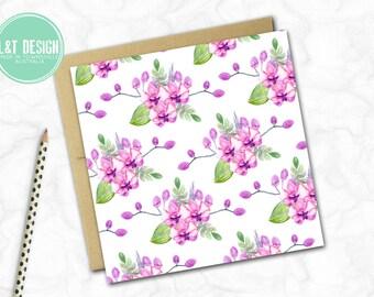 Orchids Mini Card