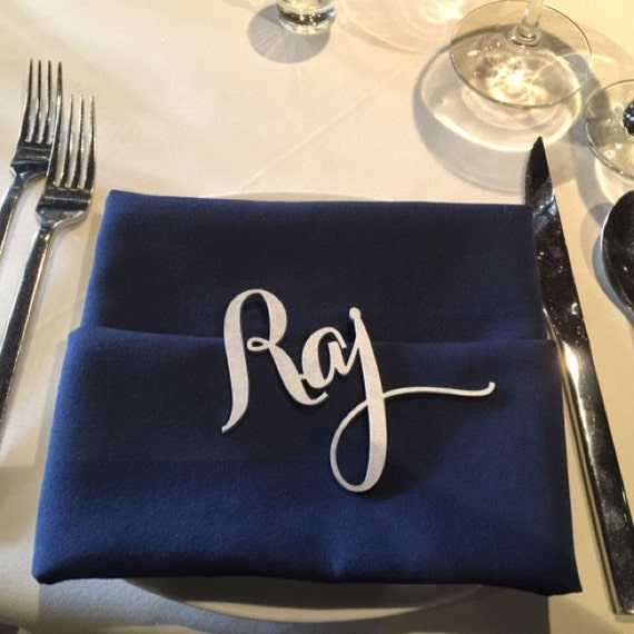 Wedding Decorations, Name Place Cards, Laser Cut Names, Guest Names, Guest Seating, Place Card, Guest Setting, Place Card, Escort Card