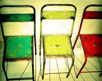 Vintage Metal Chairs