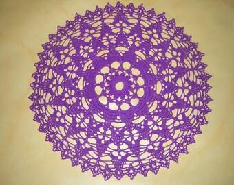 Purple doily color
