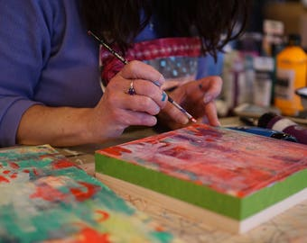 Private 1 Hour Art Coaching Session with Jennifer Mercede