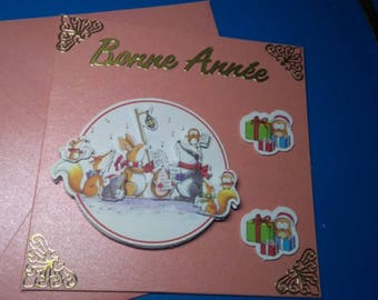 3D 965 hand made greeting card