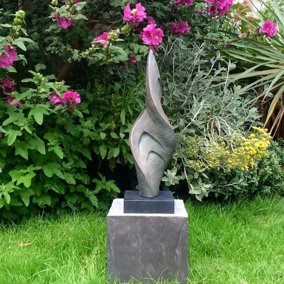 Twist Sculpture -Limited Edition bronze and resin sculpture