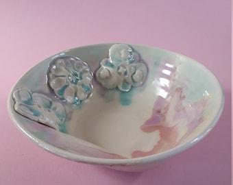 Three Flower Bowl
